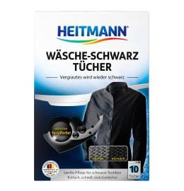 HEITMANN Laundry Black Cloths 10 pieces