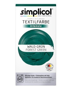 simplicol Fabric Dye intensive Forest Green