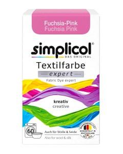 simplicol Fabric Dye expert Fuchsia Pink
