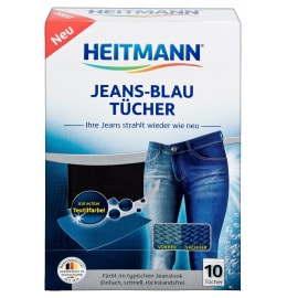 HEITMANN Jeans Blue Cloths 10 pieces