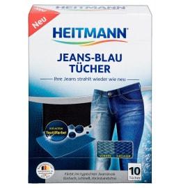 HEITMANN Jeans-Blau-Tücher 10 Stück