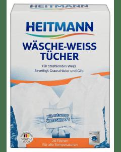 HEITMANN Wäsche-Weiss Tücher, 20 Stück