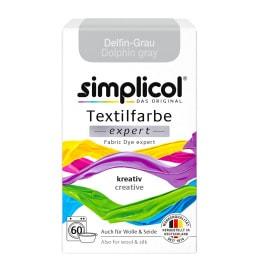 simplicol Textilfarbe expert Delfin-Grau