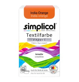 simplicol Fabric Dye expert India Orange