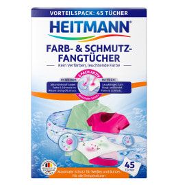 HEITMANN Colour & Dirt Collector Cloths, 45 cloths