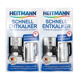 HEITMANN Rapid Limescale Remover 2 x 15 g