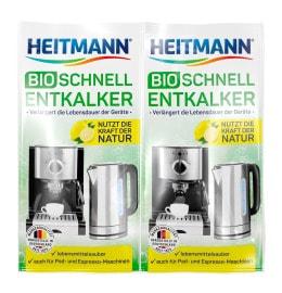 HEITMANN Bio-Schnell-Entkalker 2 x 25 g