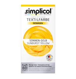 simplicol Fabric Dye intensive Sunburst Yellow