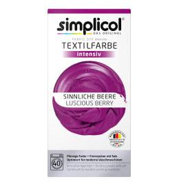simplicol Textilfarbe intensiv Sinnliche Beere