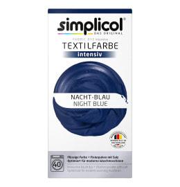 simplicol Fabric Dye intensive Night Blue