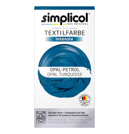 simplicol Fabric Dye intensive Opal Turquoise