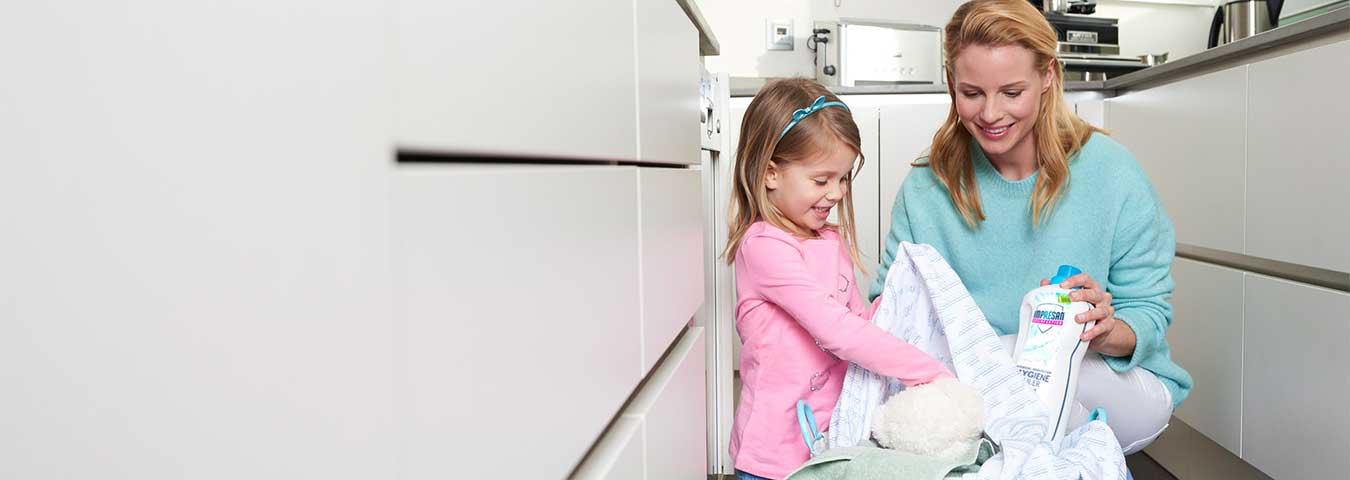 Gesunde Hygiene <br> für Ihre Familie
